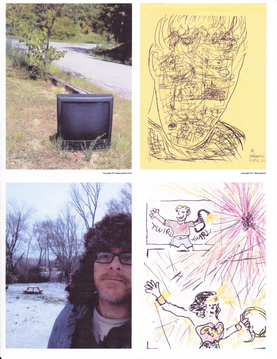Montage of cover images from the four new zines.